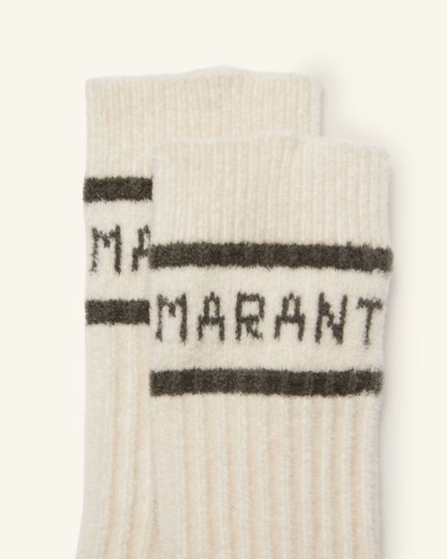 ISABEL MARANT 短袜与连裤袜 男士 LINDENH 短袜 r