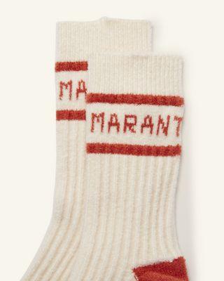 ISABEL MARANT 短袜与连裤袜 女士 LINDEN 短袜 r