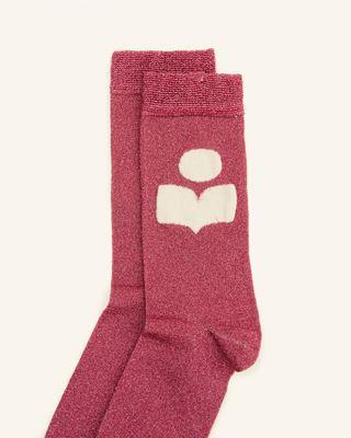 ISABEL MARANT 短袜与连裤袜 女士 SLAZIA 袜子 r